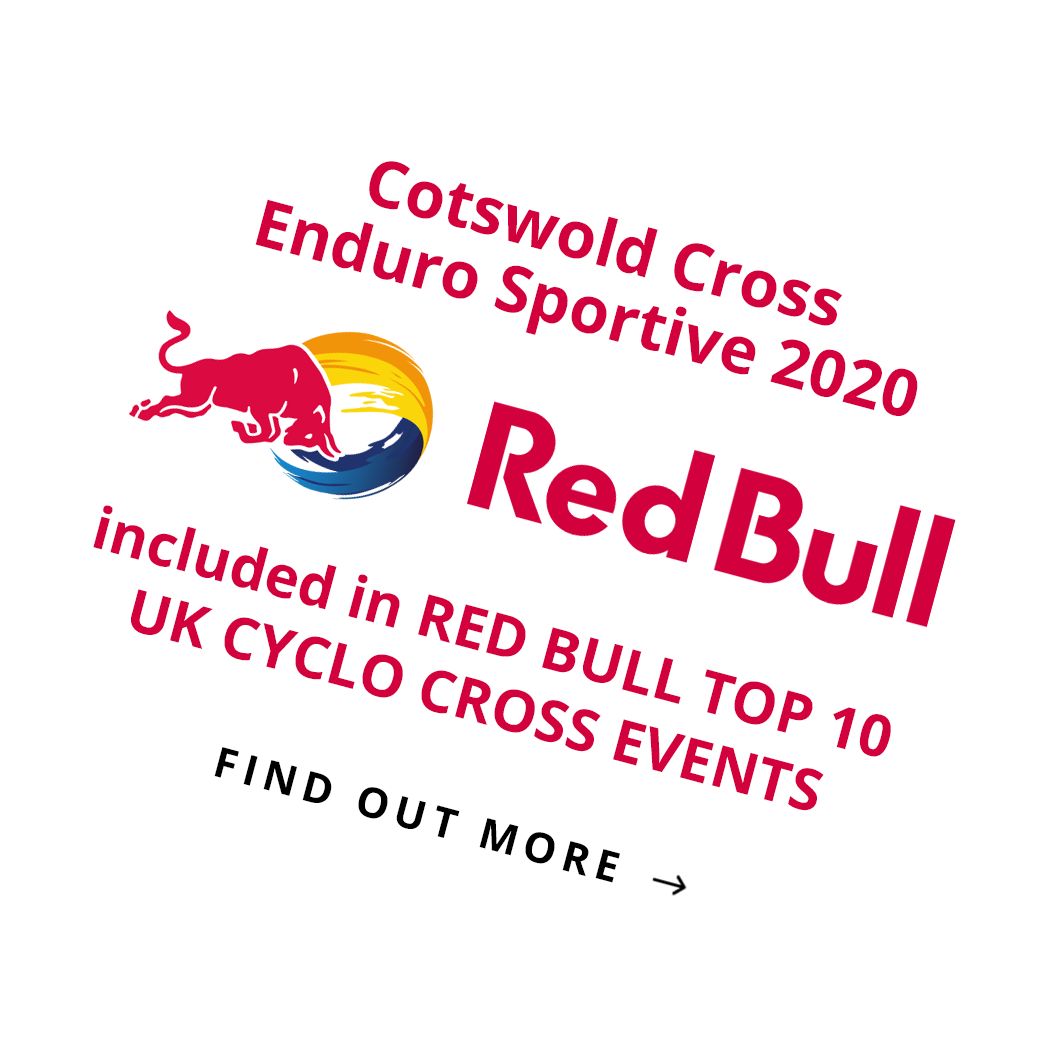 Cotswold Cross Enduro Sportive 2020 includedin RED BULL TOP 10 UK CYCLO CROSS EVENTS